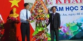 Sáng nay 5.9, hơn 332 nghìn học sinh Quảng Nam nô nức bước vào năm học mới