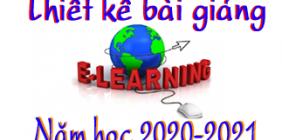 Dự thi Thiết kế bài giảng E-Learning bậc trung học năm học 2020-2021